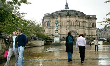 Edinburgh University: there are four universities in Edinburgh alone