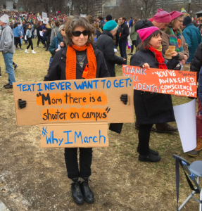 How 'snowflakes' form blizzards – Boston, March for Our Lives.