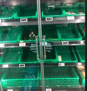 Yes, We Have No Tomatoes – Brexit Empties Supermarket Shelves