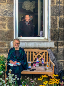 Edinburgh's Abbeyhill Colonies held its annual 'Artists'Colony' house exhibition and gala – letter from Scotland September 21